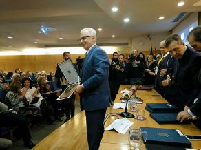 Baltasar Garzón Recibe la Distinción de Honor de la World Jurist Association